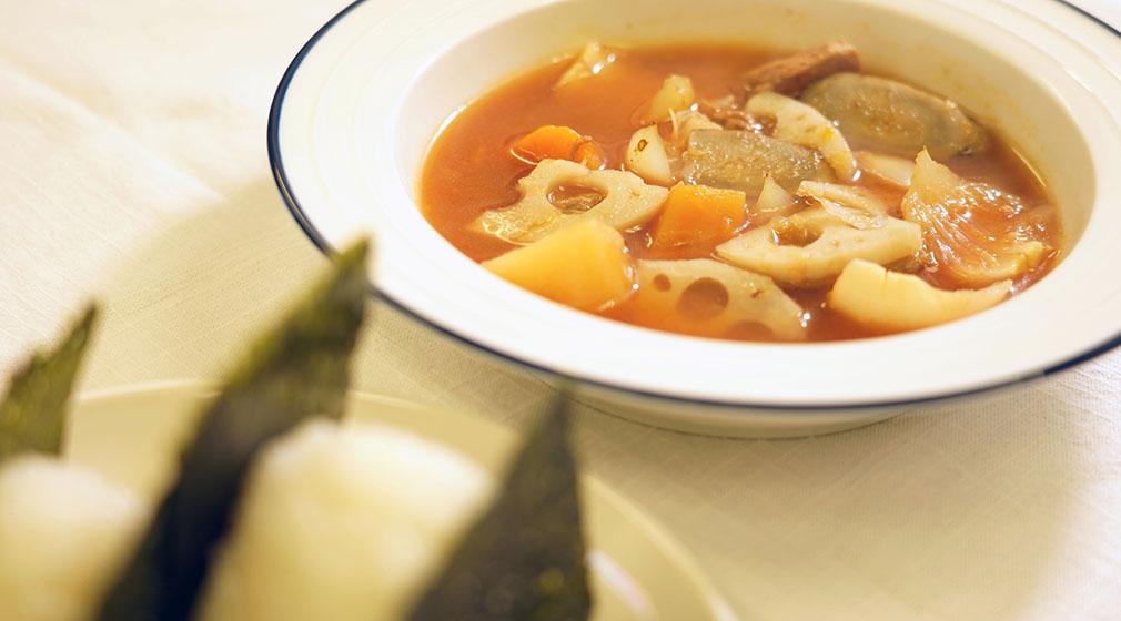 ☆根菜の生姜スープ☆
